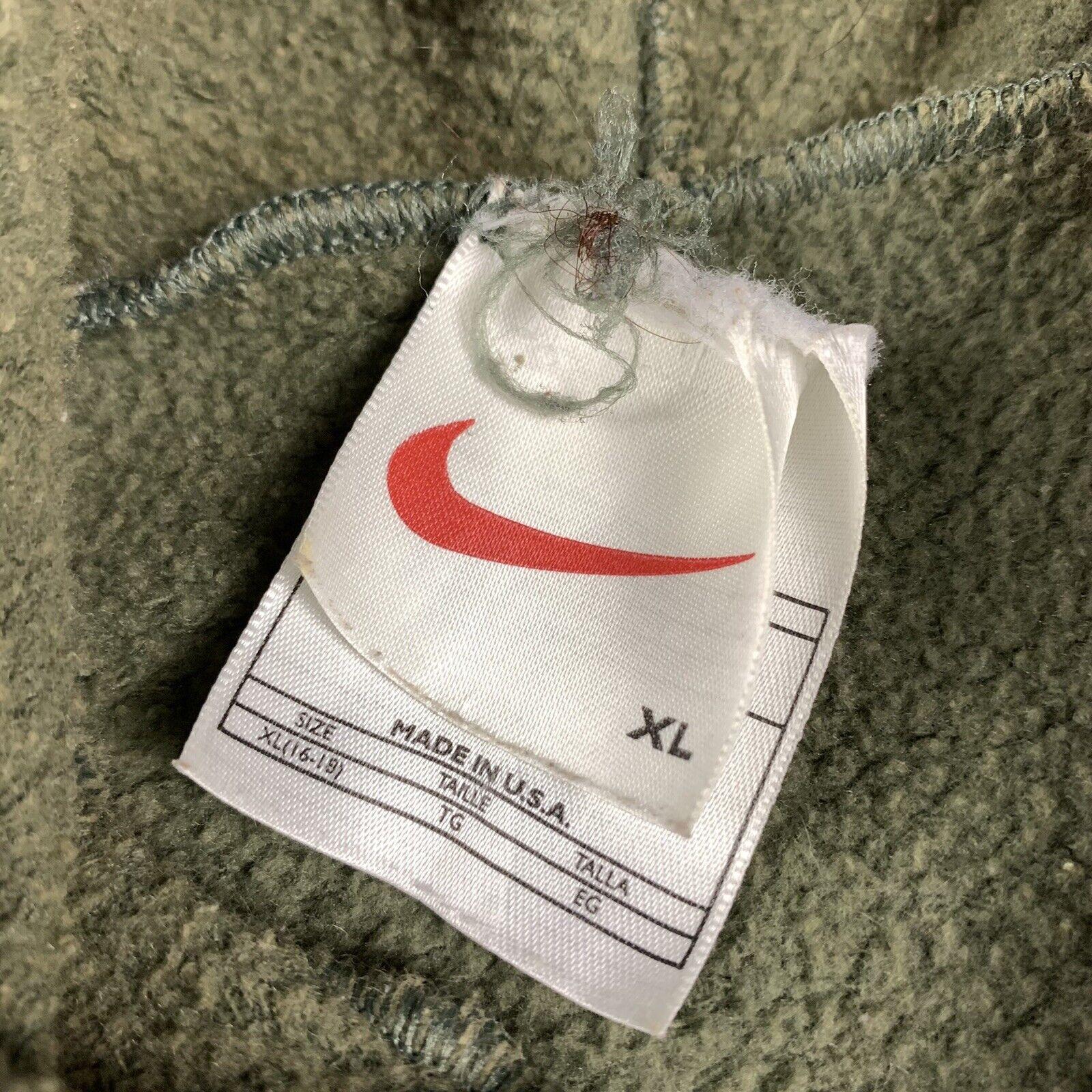 Vintage 90s Nike Womens XL Full Zip Jacket Hoodie… - image 2