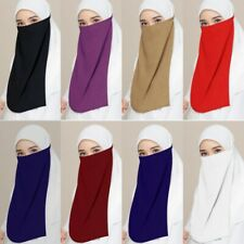 Summer Muslim Women Veil Niqab Scarf Cover Nikab Burqa Burka Sunscreen Neck