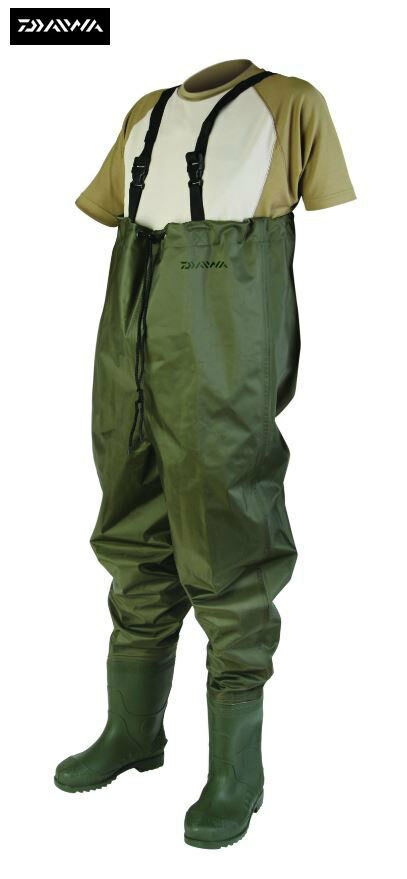 Daiwa Lightweight Nylon Chest Waders Sizes 8-12 Available Model No. DNCW