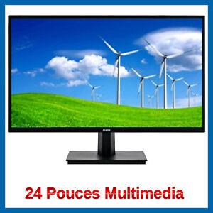 Ecran-Pc-Moniteur-24-pouces-Led-Multimedia-Neuf