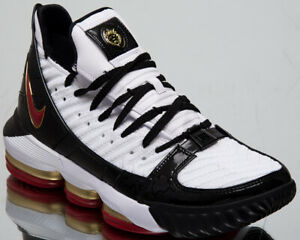 71dcd125939 Nike LeBron XVI SB Remix Mens White Black Shoes Basketball Sneakers ...