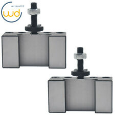 New Listing2pc Oxa 1 250 001 Quick Change Turning Facing Tool Post Holder For Lathe Cnc