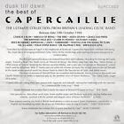 """CAPERCAILLIE """"DUSK TILL DAWN - THE BEST OF"""" ULTRA RARE UK PROMOTIONAL CD"""