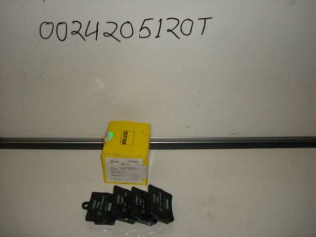 MERCEDES C CLASS 202 CHASSIS REAR PADS WITH 1 PIN IN TEXTAR. 0024205120T