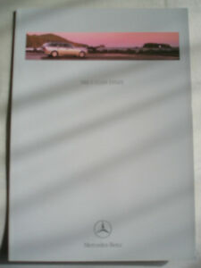 Mercedes C Class Estate brochure Nov 1999 - <span itemprop=availableAtOrFrom>KINGS LANGLEY, Hertfordshire, United Kingdom</span> - Returns accepted Most purchases from business sellers are protected by the Consumer Contract Regulations 2013 which give you the right to cancel the purchase within 1 - KINGS LANGLEY, Hertfordshire, United Kingdom