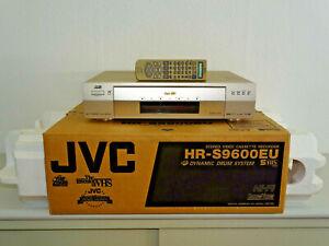 JVC HR-S9600 High-End S-VHS Videorecorder in OVP w.NEU inkl. FB, 2J. Garantie