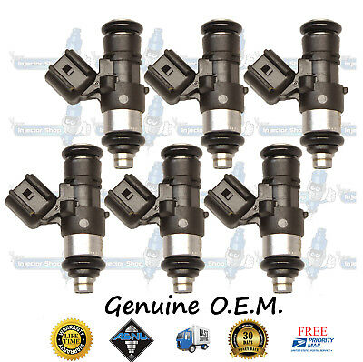 Reman OEM Ford Mercury Bosch 6x Fuel Injectors 0280158056 4.0L