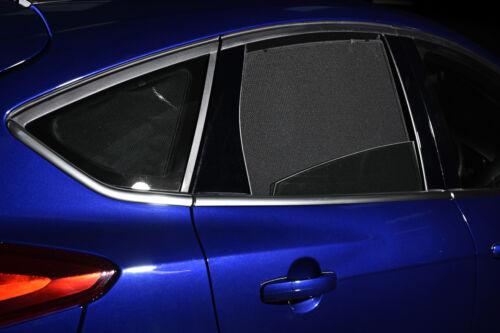 Fiat 500X 5dr 2014 en la ventana de cortinas de coche UV Sol persianas de vidrio de Privacidad Tinte Negro
