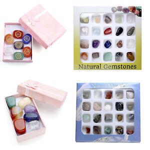 7-20-PCS-Mini-Tumbled-Gemstone-Carved-Chakras-Polished-Stone-Display-Collection