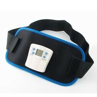 Ab Gymnic Front Muscle Arm Leg Waist Abdominal Massage Slim Fit Toning Belt.