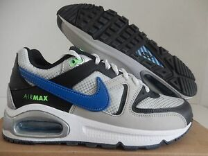 on sale d17e1 4fc03 Image is loading NIKE-AIR-MAX-COMMAND-GS-SILVER-BLUE-BLACK-