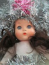 LARGE 1950s CHRISTMAS TREE FAIRY ANGEL DOLL