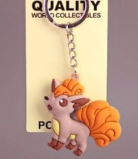 Pokemon Vulpix Rubber Keychain 2 Inches US Seller