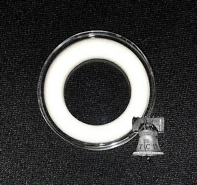 Air-tite Coin Holder Capsule Model H White Ring Acrylic Storage Case 26-32mm