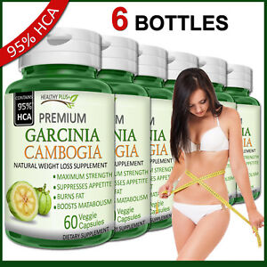 6-x-GARCINIA-CAMBOGIA-Capsules-95-HCA-Fat-Burn-Diet-Slim-Weight-Loss-Natural