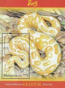 SJ-Exotic-Pets-Malaysia-2013-Snake-Reptiles-Chinese-Zodiac-Lunar-ms-MNH