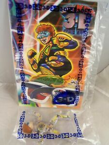 3-D-Spy-Kids-McDonald-039-s-2003-6-New-in-sealed-package-bag-Figure-Comic-amp-Glasses