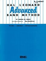 Hal Leonard Advanced Band Method Conductor Advanced Band Method 006600100