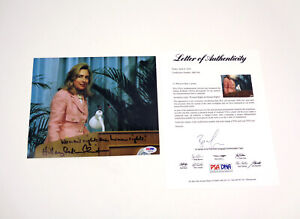 Hillary Clinton Signed Autograph Women's Rights Inscription Photo PSA/DNA COA