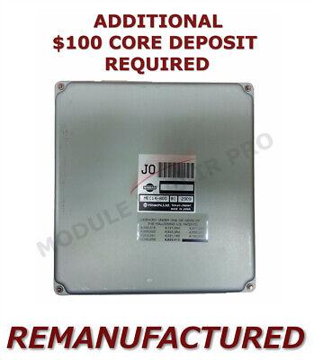 REMAN 01-03 Nissan Pathfinder Infiniti QX4 Engine Computer ECM ECU MEC14-170 EXC