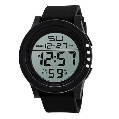 LED Waterproof Digital Quartz SKMEI Fashion Watch Military Sport Men Wristwatch