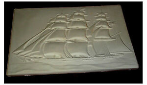 Cool-3-masted-schooner-Flat-Tile-Slump-Fusing-stained-glass-kiln-mold