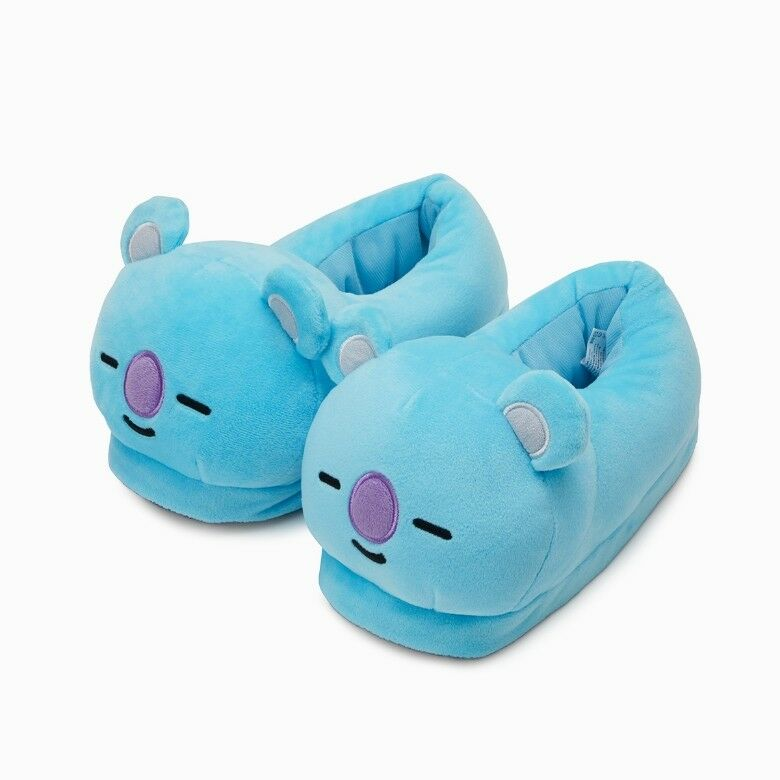 BT21 Character KOYA Plush Slippers Indoor FREE Size 230250mm Official Goods