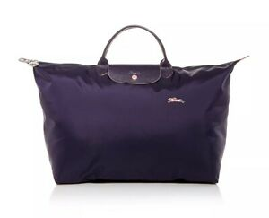 NWT LONGCHAMP Le Pliage Club Type L Large Travel Weekender Tote ...