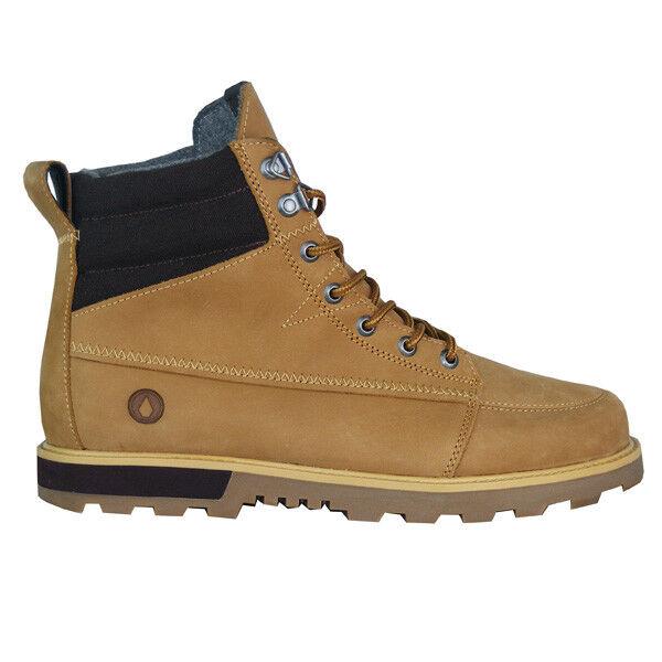 Volcom Sub Zero bota señores cuero botas de invierno marrón