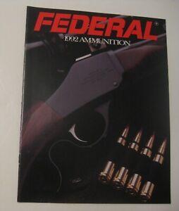 Nouveau Stock Ancien Vintage 1992 Federal Munitions Rechargement Guide Manuel Catalogue ~ Nice!-afficher Le Titre D'origine