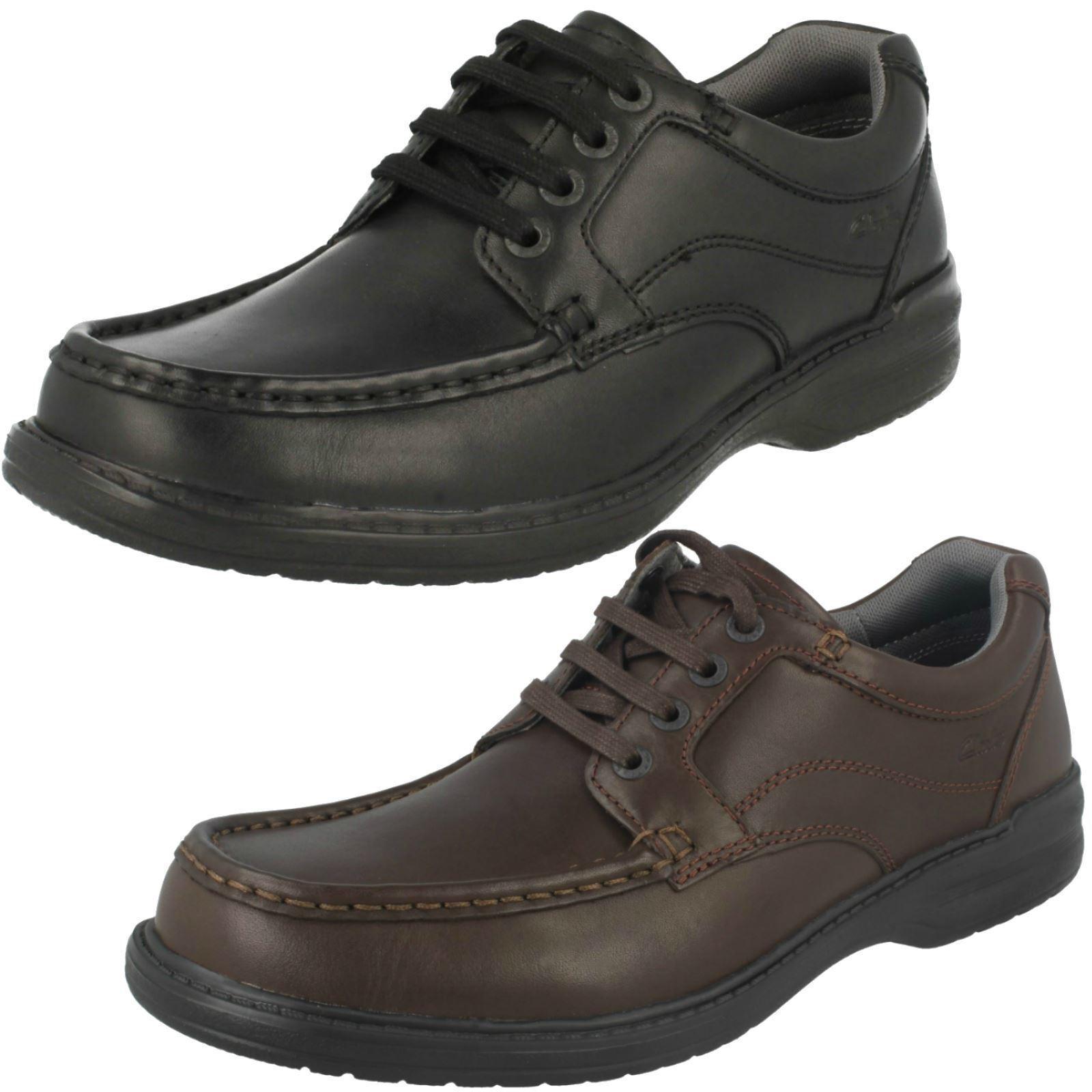 Scarpe casual da uomo  Offerta uomos Clarks in pelle Pizzo fino Casual Lavoro Formale Ufficio Scarpe
