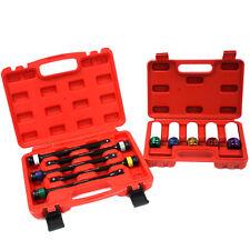 Combo 5pc 12 Dr Torque Limiting 8 Ext Bar Amp 5pc Thin Wall Lug Nut Socket Set