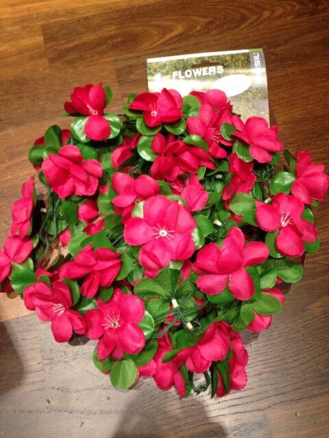Fahrrad - BASIL Flower Garland Blumengirlande 130 cm - fuchsia - 50180 - NEU