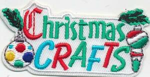 Girl Boy Cub Christmas Crafts Projects Fun Patches Crests Badges