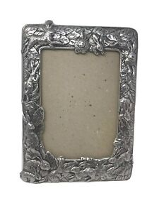 Arthur-Court-Bunny-Rabbits-Picture-Frame-4-034-x-6-034-Aluminum-Alloy-B1-No-Glass
