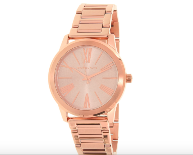 bf0ca00f236b New in Box Michael Kors Women s MK3491 Hartman Watch Stainless Steel Rose  Gold