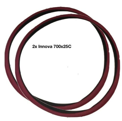 ***NEW*** Set Purple 2x Innova 700 x 25C Fixie Fixed Gear Track Road Bike Tire