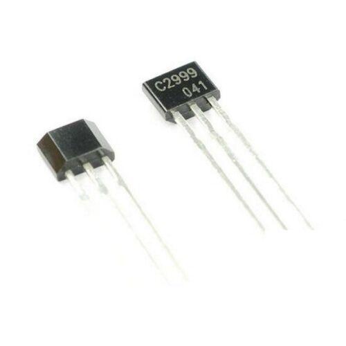 50PCS  HF Amplifier Transistor CHANGJIANG TO-92S 2SC2999 C2999