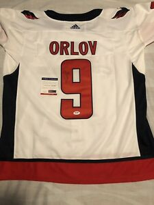 best loved b9cd0 0ceae Details about Dmitry Orlov Signed Autographed Stanley Cup Washington  Capitals Jersey Psa/Dna