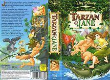 (VHS) Tarzan & Jane (Walt Disney)