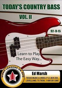 Aujourd'hui Le Pays Bass Styles: Volume Ii Par Ed Marsh (92-r-15)-afficher Le Titre D'origine