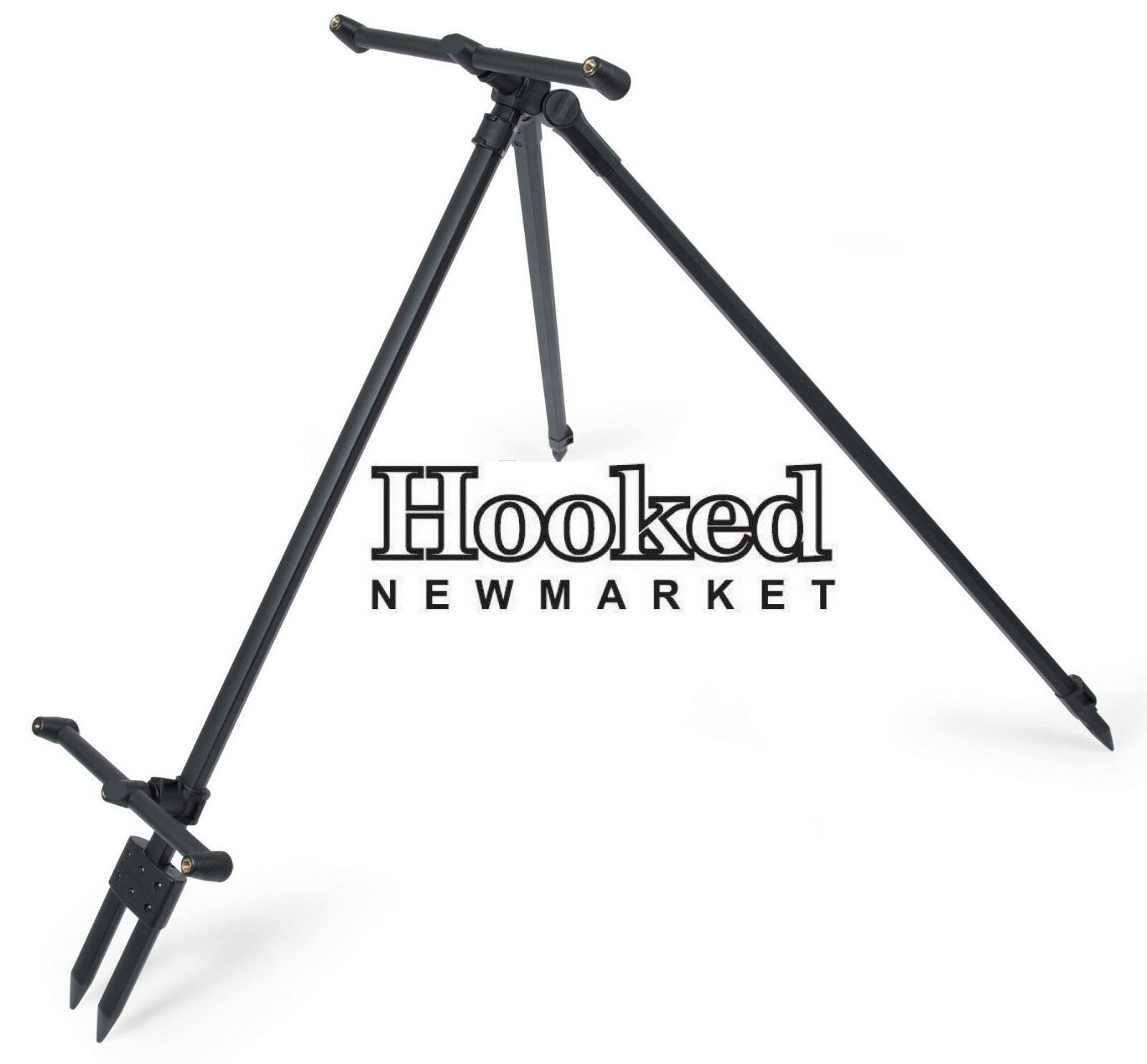 Korum River Tripod- NEW 2018 Version (K0360017)- Barbel Double Rod Rest Rod pod