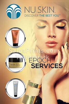 Nail Salon Poster Nu Skin Spa Product Services Nail