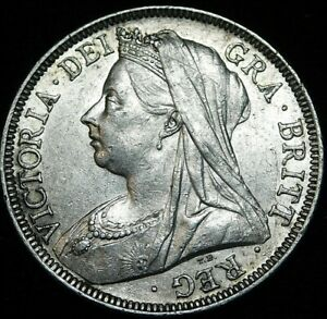 Great-Britain-1901-Half-Crown-Almost-Uncirculated-re6-A46-721-dc