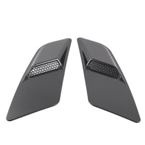 for-Ford-Mustang-2015-2017-Front-Hood-Air-Intake-Trim-Scoop-Vent-Guards-Hea-B6H1
