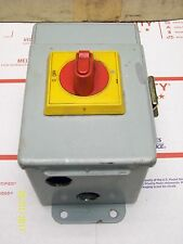 Baco Main Switch Control PR 21 Enclosed in Hoffman Panel Enclosure Baco N O Spst Switch Wiring Diagram on