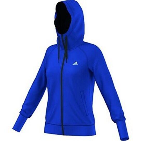 Adidas Prime FZ Hood, Full-Zip Hoodie Fitness Damen Gr. M ***NEU + OVP***