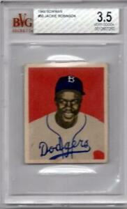 1949-Bowman-50-Jackie-Robinson-BGS-BVG-3-5-50-50-Cleaner-than-some-PSA-4-or-5