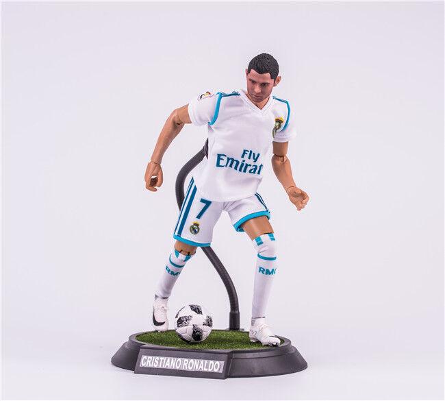 1 6 Football Star Cristiano Ronaldo 7  PVC Action Figure Model Toy Gift New
