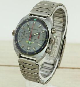 Sturmanskie-Poljot-31659-USSR-men-039-s-military-air-force-wristwatch-chronograph